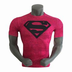 Hot Red Snake Sports Quick Dry Fitness Shirts