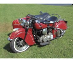 1 9 4 8 Indian Chief with Sidecar is a 1948 Indian Chief Classic Motorcycle in Miami FL