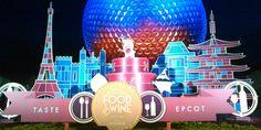 20th Epcot International Food & Wine Festival - Food Taste Test