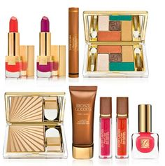 Estee Lauder Bronze Goddess Collection for Spring 2013