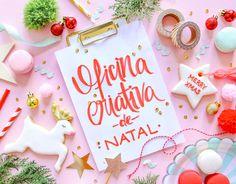 OFICINA CRIATIVA DE NATAL DIY BLOG DO MATH / www.blogdomath.com.br - instagram @mathdoblog