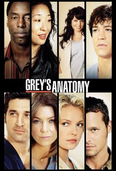 Grey's Anatomy. I have so much to catch up on.