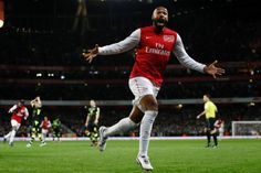 Thierry Henry retour à Arsenal en 2012. But victorieux contre Leeds.