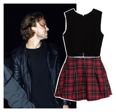 """""""Ashton Irwin"""" by hemmingsgirl96 ❤ liked on Polyvore featuring H&M and Zara"""