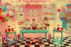"Sweet Shoppe / Birthday ""Sweet Shoppe""   Catch My Party"