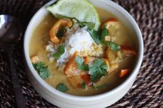 Recipe : Curried Pumpkin Soup