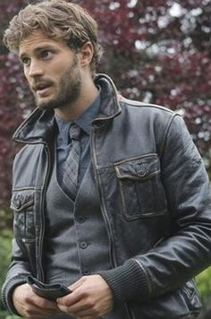 Jamie Dornan - The Huntsman/Sheriff Graham from Once Upon a Time. ehhhh don't go! Please don't die! We can take down Regina together! Pleeeease. don't go.