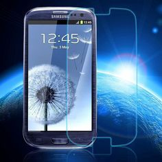 0.3mm Tempered Glass for Samsung Galaxy S3 9H Hard 2.5D Arc Edge Round Border Front Screen Protector