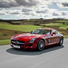 Luxury Cars  :   Illustration   Description   Mercedes-Benz SLS AMG