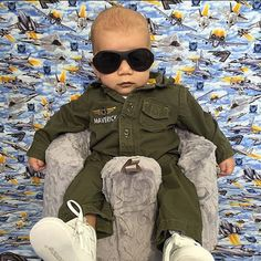 PHOTOS: Parents Dress Their Baby In A Different Costume Every Day Until Halloween
