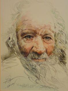 Aquarelle  Oldman