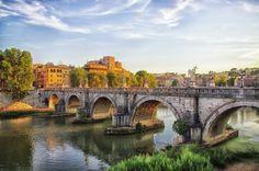 https://flic.kr/p/df6MaT | Italy Rome Ponte Sant'Angelo August 2012