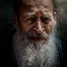 Tell Aviv by Gianstefano Fontana Vaprio - Photo 257376405 / Portrait Photography Men, Figure Photography, Old Man Portrait, Portrait Art, Old Man Face, Face Study, Art Through The Ages, Old Faces, Men With Grey Hair