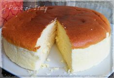 Soft and delicate, the Japanese Cheesecake is baked in a bain marie, This cake has a very unique texture and it is not cheesy at all, definitely a must try! Baking Recipes, Cake Recipes, Japanese Cheesecake, International Recipes, Cake Cookies, No Bake Cake, Asian Recipes, Baked Goods, Biscotti