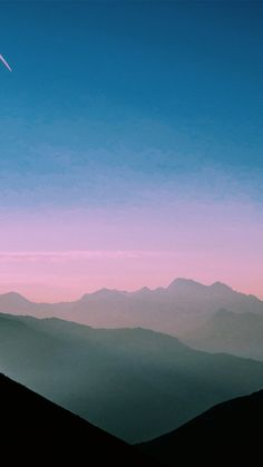 Mountain, range, sky and dusk HD photo by Paul Gilmore ( on Unsplash fe48d7a20322