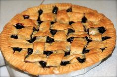 With a gallon of freshly picked blueberries on my hands, I had to find lots of ways to use them. This pie was one of the clear winners. I served it at my neighborhood Fourth of July party warm with...