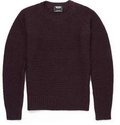 Todd SnyderOpen-Knit Wool-Blend Sweater