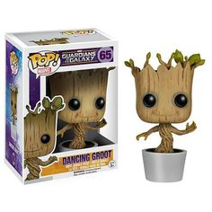 The Guardians of the Galaxy has been around since 1969 and with a movie finally made, Marvel gives the superhero team the Funko Pop! This Guardians of the Galaxy Dancing Groot Pop! The Dancing Groot Pop! Baby Groot, Groot Toy, Funko Pop Marvel, Marvel Avengers, Marvel Fan, Figurine Star Wars, Pop Figurine, Pop Vinyl Figures, Guardians Of The Galaxy