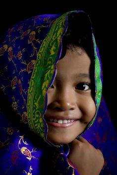 Solo, Central Java, Indonesia  Smile by Harjono Djoyobisono