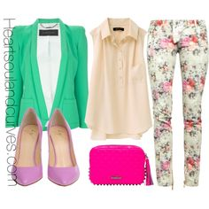 """""""Be Colorful..."""" by adoremycurves on Polyvore"""