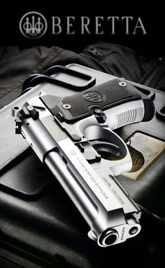 """Beretta M9A1 Compact Inox - """"Mercy"""" - 9x19mm Luger - Kyrie Eleison"""