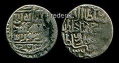 Timurid Shahrukh AR tanga Khwarizm 836 AH Rare mint - 60$. Тимурид Шахрух Хорезм 836 AH - 60$.
