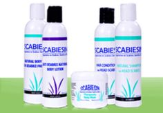 Scabiesin™ is Anti Scabies Line of Natural Products For Treatment of Head Scabies on Scalp and Hair