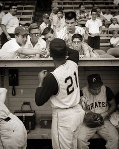 Roberto Clemente, Autographed Baseballs, World Series, Black And White, Sports, Kids, Puerto Rico, Collection, Instagram