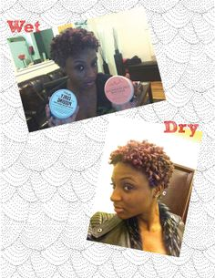 So I tried a super wash n go yesterday.... I simply applied Shea moisture Curl Enhancing Smoothie and Miss Jessie's curly pudding in the shower to soaked hair using my fingers to rake the products through my hair and let it air dry. I LOVE!!! Might twist out the top next time to stretch and give a different shape. #Hairjourney #washngo #twa #curls #curlbox #curlygirl #naturalhair #missjessies #sheamoisture