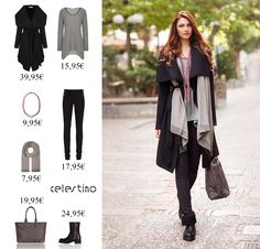 You either know fashion or you don't… celestino. Duster Coat, Kimono Top, Jackets, Tops, Women, Fashion, Down Jackets, Moda, Fashion Styles