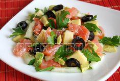 (+1) Салат из семги и авокадо с огурцом