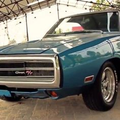 Hot American Cars — Super Clean 1970 Dodge Charger 383 V8   Video  ...