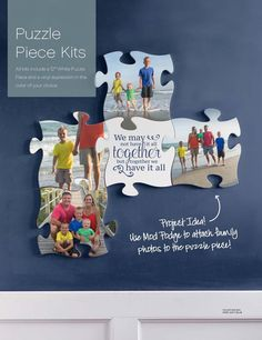 Love the new Puzzle piece kits from Uppercase Living! #OhMYWord See all the designs at http://www.ohmyword.us/Puzzle