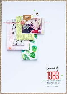 Studio Calico Steffi Ried for #scdesignschool #catherinedavis #papercraft #scrapbooking