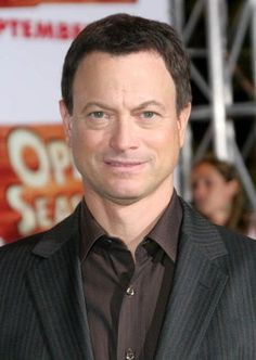 Gary Sinise,,a good man who happens to be an actor.