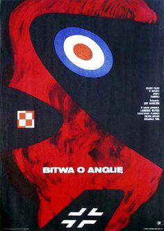 The Battle of Britain - poster by Eryk Lipiński