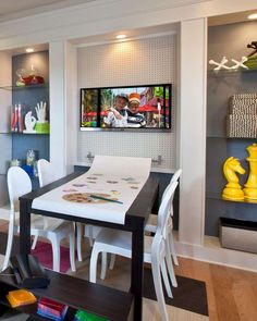 20+ Fun Indoor Kid Playroom Ideas. Play is a common thing children do every day. We need indoor kid playroom because play an important role for the child's self-development tools, so th...  #indoor #kid #playroom
