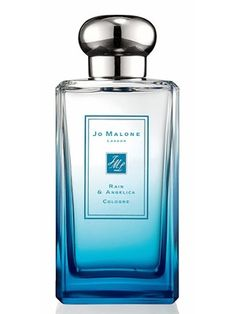 Rain & Angelica Jo Malone for women and men--White Jasmine & Mint, Wisteria & Violet and Black Cedarwood & Juniper each denote a different kind of rainy weather.