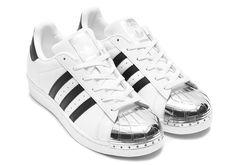 "Adidas Superstar ""Silver Toe"" Footwear White/Silver Metallic/Core Black White BB5114"