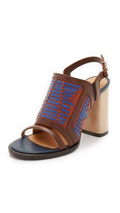 Thakoon Addition Lizzy Wooden Heel Sandals | SHOPBOP