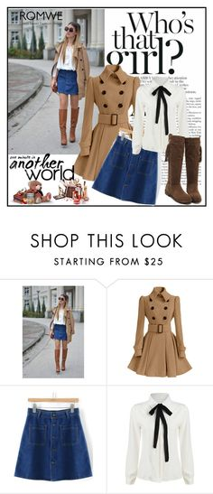 """""""Romwe 10/VIII"""" by merima-p ❤ liked on Polyvore featuring women's clothing, women's fashion, women, female, woman, misses and juniors"""