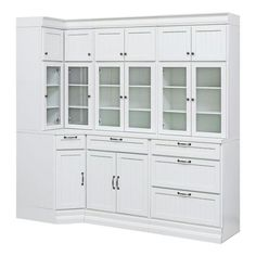 Home Decorators Collection Martingale True White Beadboard Modular Storage Cabinet - The Home Depot Kitchen Pantry Cabinets, Ikea Kitchen, Kitchen Furniture, Kitchen Ideas, Kitchen Colors, Cabinets In Dining Room, Wall Pantry, Orange Kitchen, Pantry Ideas