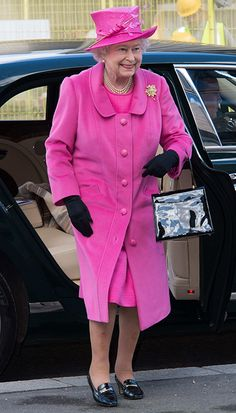 The Queen - one of the best dressed Royals w/e March 21, 2014