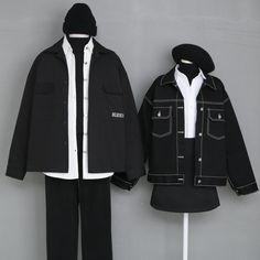 Fashion Couple, Cute Fashion, Fashion Outfits, Korean Street Fashion, Korea Fashion, Beautiful Outfits, Cool Outfits, Casual Outfits, Japanese Outfits