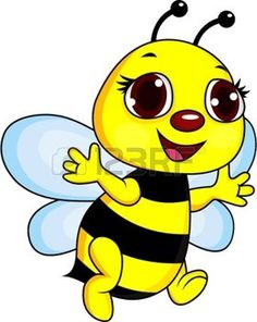 Illustration of Bee digital collage vector art, clipart and stock vectors.