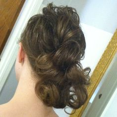 Pentecostal hairstyle...now I must figure out how to do this....