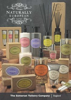 Naturally European takes inspiration from the luscious landscapes that Europe has to offer and presents a beautiful range of luxury bath, body and home fragrance products.