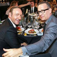 Kevin Spacey and Tom Hanks