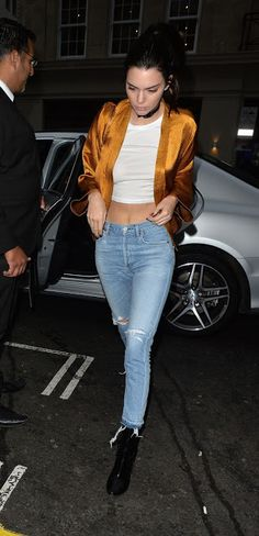 Kendall Jenner  Out at Nobu Berkeley Restaurant in Mayfair London May-2016  actress Kendall Jenner