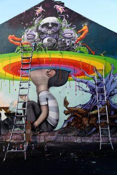Urban Artist Seth Globepainter : Street Art Murals Urban Artist Seth Globepainter : Street Art Murals More from my site Londres : Street Art Graffiti Artists Murals Street Art, Street Art Utopia, Street Art News, 3d Street Art, Street Art Graffiti, Mural Art, Street Artists, Urbane Kunst, Art Du Monde